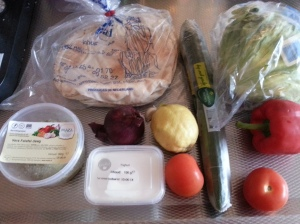 HelloFresh w22 platbrood m falafel